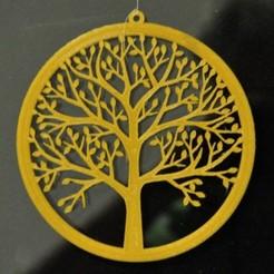 Win_Deco_Tree_01.JPG Télécharger fichier STL Décoration de fenêtre avec un arbre • Design à imprimer en 3D, meteoGRID