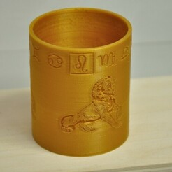 Leo_web.JPG Download STL file Storm Lamp with horoscope sign of Leo • 3D print object, meteoGRID
