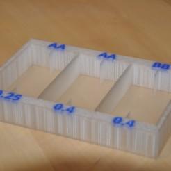 """pic_6ZNqJT.JPG Télécharger fichier STL gratuit Stand pour """"Ultimaker 3 print core box"""" (Boîte à noyaux d'impression) • Plan à imprimer en 3D, meteoGRID"""