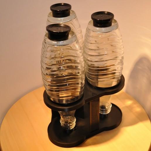 Download 3D printing designs SodaStream Bottle Dryer, meteoGRID