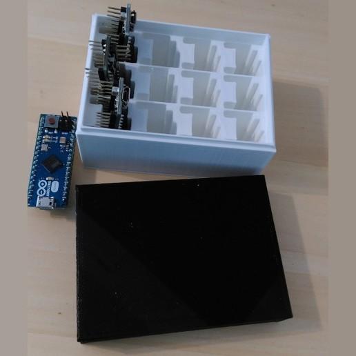 Descargar modelo 3D Caja de la microtienda de Ardruino-Micro, meteoGRID