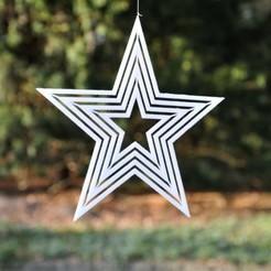 Star2_web.JPG Download STL file Star for Decoration • 3D printable template, meteoGRID