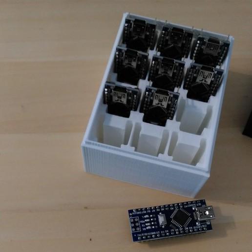 Descargar modelos 3D Caja de la tienda de Ardruino-Nano, meteoGRID