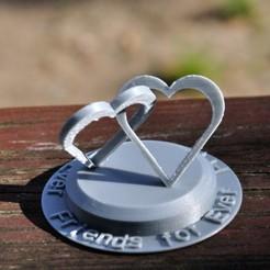 2Hearts_10.JPG Télécharger fichier STL Deux cœurs connectés • Design pour impression 3D, meteoGRID