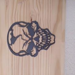 IMG_20201012_174229.jpg Download STL file skull and crossbones wall decoration • 3D print object, mickeyanarchiste
