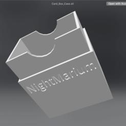 """Descargar modelos 3D para imprimir Caja de Cartas para el Juego """"Nightmarium"""", sysdevme"""