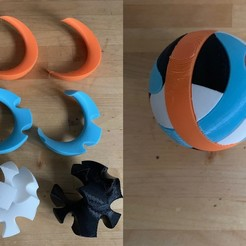 puzzle.jpg Download free STL file Spherical Puzzle • 3D print design, nickcholy