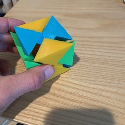 Download free STL file Coordinate-motion cube puzzle • 3D print model, nickcholy