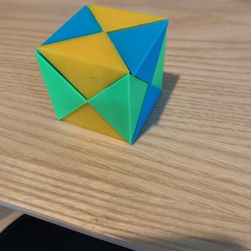 3D Printable Millennium Puzzle 3D Puzzle by Parke Bowman