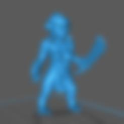 Imprimir en 3D gratis Cazadora de duendes 1 de 4, m0rgen-muffel