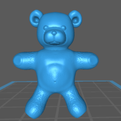 Imprimir en 3D gratis Oso de peluche, m0rgen-muffel