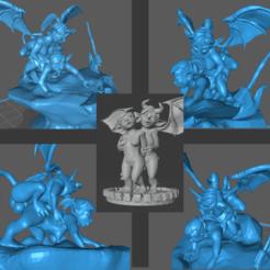 Download free 3D printer files Demon Futa Boss Raid fail, m0rgen-muffel