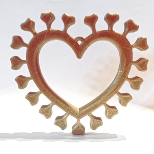 Download free 3D printing models Corona Heart, Tom_at