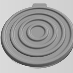 "Download 3D printing designs QI WIRELESS CHARGER ""STYLE 2"", MaD"