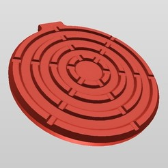 """Download 3D printer templates QI WIRELESS CHARGER  """"style 4"""", MaD"""
