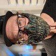 Download 3D printing files Biomechanical Half mask, mrr0ng