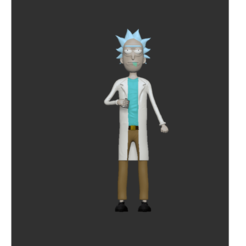 Download 3D printing designs RICK SANCHEZ, nandonotario