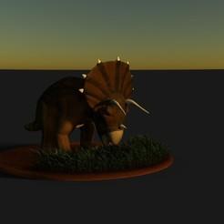 untitled.1.jpg Télécharger fichier STL TRICERATOPS -DINOSAURE • Design à imprimer en 3D, nandonotario