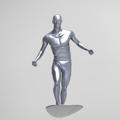 Imprimir en 3D SILVER SURFER, nandonotario