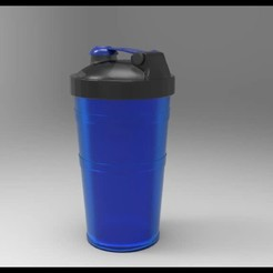 SHAKE.jpg Download STL file SHAKE-BOTTLE • 3D printing design, nandonotario