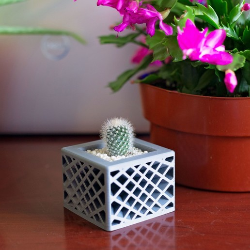 Download free 3D printer designs Star Spectrum Planter, MikeFiveTango