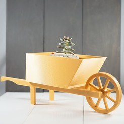 Download free 3D print files Wheelbarrow, MikeFiveTango