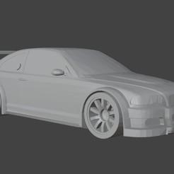 m3.jpg Télécharger fichier STL BMW M3 GTR • Modèle à imprimer en 3D, Xlaio