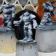 Télécharger plan imprimante 3D gatuit Battletech Commando Variant Mod (COM-3A), Thunderhead_Studio