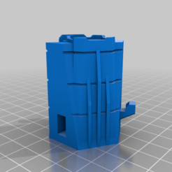 Tower_Mk_III_T-intersection_L.png Download free STL file American Mecha - Mk III Hex Walls • 3D printer design, Thunderhead_Studio