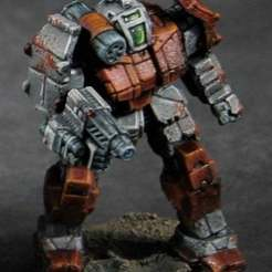 grf1s.jpg Download free STL file Battletech Griffin mod (GRF-1S) • 3D print template, Thunderhead_Studio
