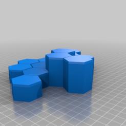RH3H5_1-2.png Download free STL file Mecha Hex Hills - Rolling Hills Set #3 • Design to 3D print, Thunderhead_Studio