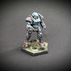 Descargar diseños 3D gratis Hombros alternativos de Battletech Commando (Amarok), Thunderhead_Studio