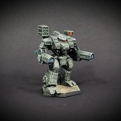 Descargar modelos 3D gratis Martillo de guerra Battletech WHM-6R(C), Thunderhead_Studio