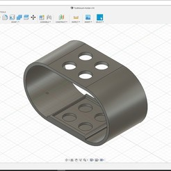 Download free 3D printing templates Toothbrushes Holder, sphuynh