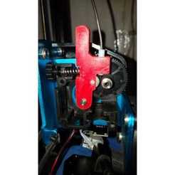 Download free 3D printer model Titan Extruder Idler Lever Artillery X1 sidewinder, jorge_demanz
