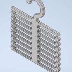 Télécharger fichier STL gratuit Cintre à cravate / Krawattenhalter • Objet imprimable en 3D, -mario-