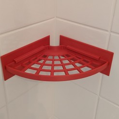 IMG_20200420_091659.jpg Download free STL file tray for the shower • 3D printer object, -mario-