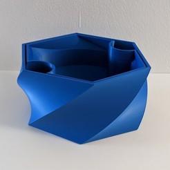 Télécharger fichier STL gratuit Pot de fleur auto-arrosant • Plan imprimable en 3D, -mario-