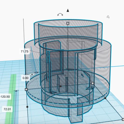 Télécharger fichier 3D Logitech G27 Moyeu pour Extension borne d'arcade, baclyon69