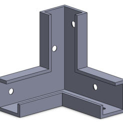 Support_Angle.PNG Download free STL file Mounting bracket • 3D printable template, KLS
