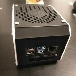 IMG_20210107_173044.jpg Télécharger fichier STL gratuit Boîtier super silencieux Raspberry Pi 4 avec support pour disque dur (SSD) 2,5 • Plan à imprimer en 3D, zdendys