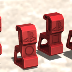 4.png Download free STL file ps4 support • 3D printable design, TENDENCIA_3D
