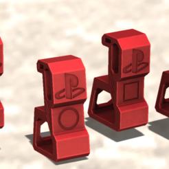 4.png Descargar archivo STL gratis soporte ps4 slim • Plan para la impresión en 3D, TENDENCIA_3D