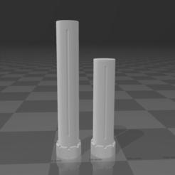 Captura de pantalla 2021-01-02 140748.png Télécharger fichier STL 2x Stock extend Tubes pour Ronin Saigo et stocks similaires • Plan imprimable en 3D, DaniElbichO