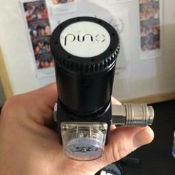 20200201_141849.jpg Télécharger fichier STL Couvercle de la valve HPA • Design pour imprimante 3D, DaniElbichO