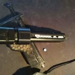 Glock Speedloader.jpg Télécharger fichier STL Airsoft Glock Speedloader • Modèle pour impression 3D, Woodhouse