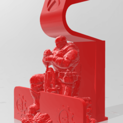 Base Fenix.png Download OBJ file Xbox Gears of Wars Base Control • 3D printing object, jesushbpc