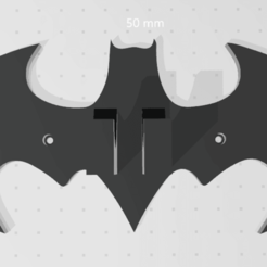 Batman 1.png Download STL file Batman Xbox control holder • 3D print object, jesushbpc