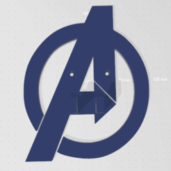 Avenger 1.png Download STL file Avengers Xbox Control Holder • 3D printable model, jesushbpc