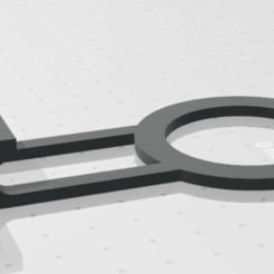Download 3D printing models Wall charging ring / Phone holder, jesushbpc